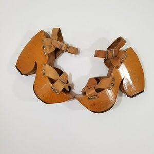 Vintage Rare Sabots by Kimel Platform sandals